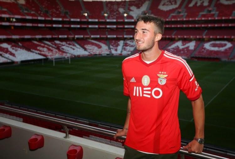 Cristante assina com o Benfica por cinco temporadas