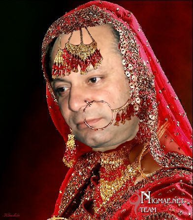 Nawaz Sharif in Funny Face - Funny Pictures
