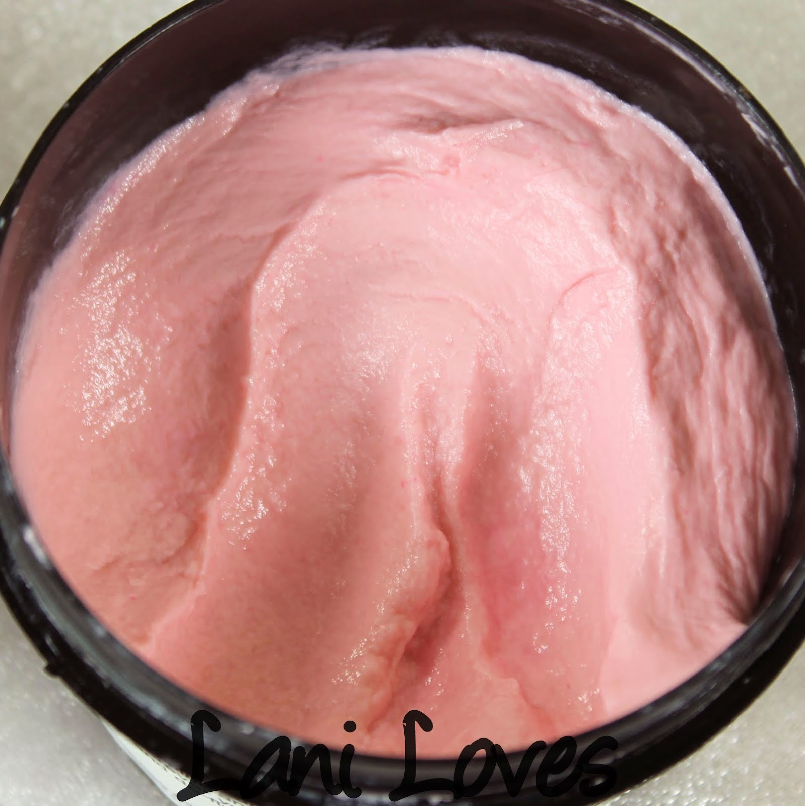 LUSH D'Fluff Strawberry Shaving Soap Review & Giveaway!