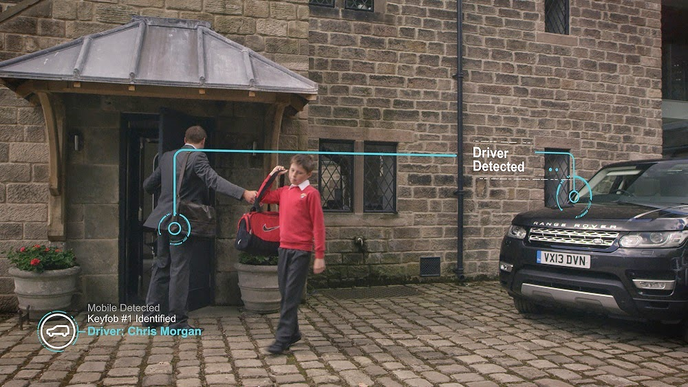 Jaguar Land Rover self-learning intelligent car