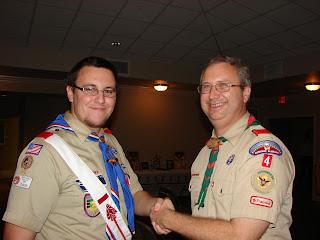 Montgomery Catholic Senior Earns Eagle Scout Honor 1