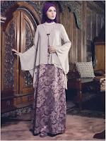 Model Gambar Foto Baju Muslim Batik