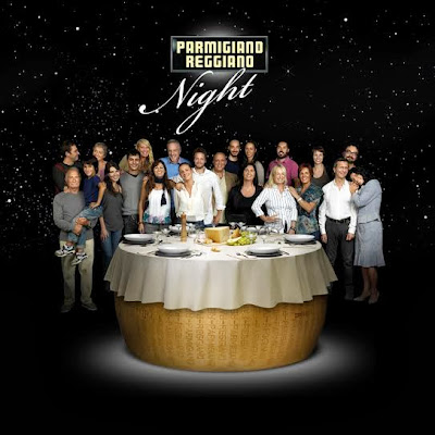 torna la parmigiano reggiano night 2,  la cena 2.0