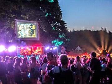 House of new york at latitude festival 2014 celebrating for 1980s house music