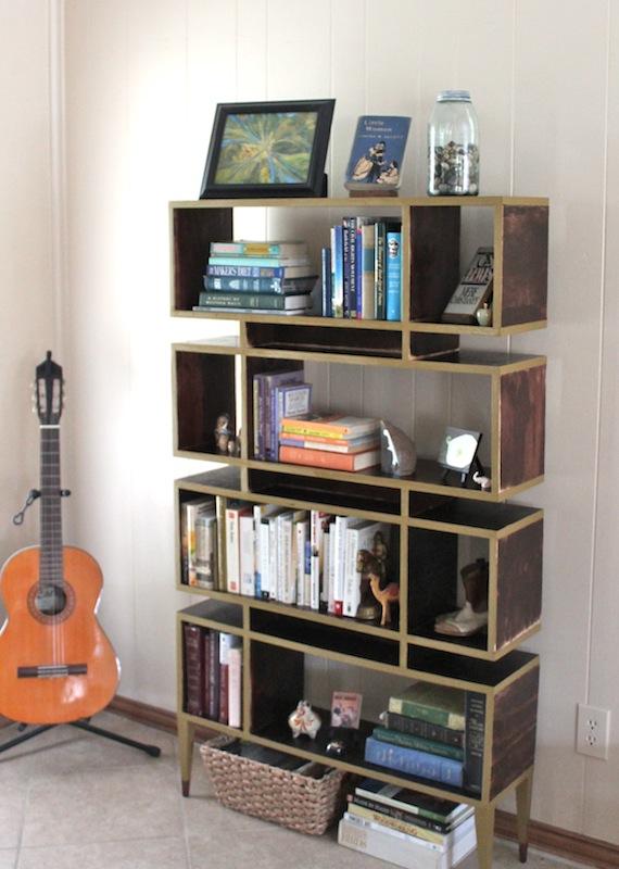 Bookshelf Gone Retro H U R D O N E Y