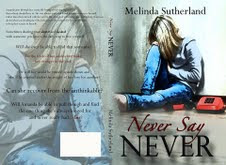Never Say Never by Melinda Sutherland Cover Reveal