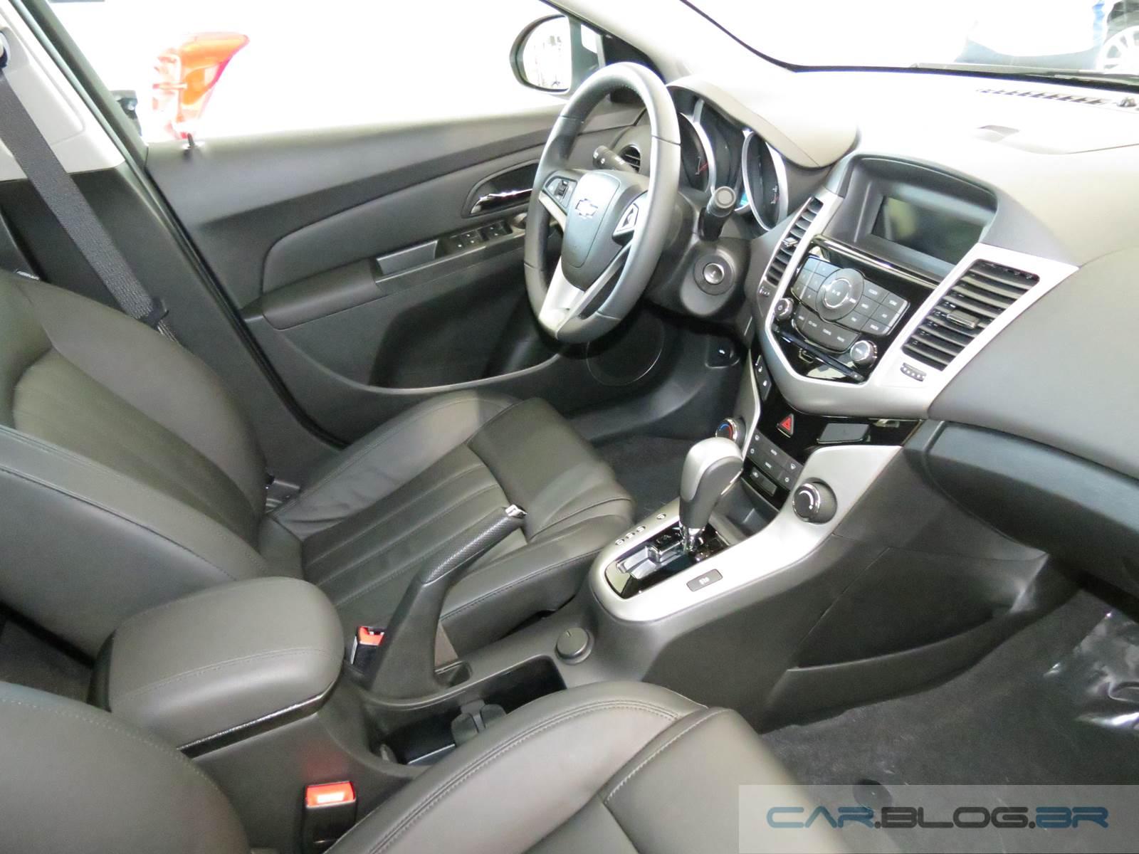 Chevrolet Cruze LT 2016 - interior