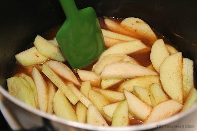 Apple Pear Crisp, #SundaySupper, apples, pears, baked