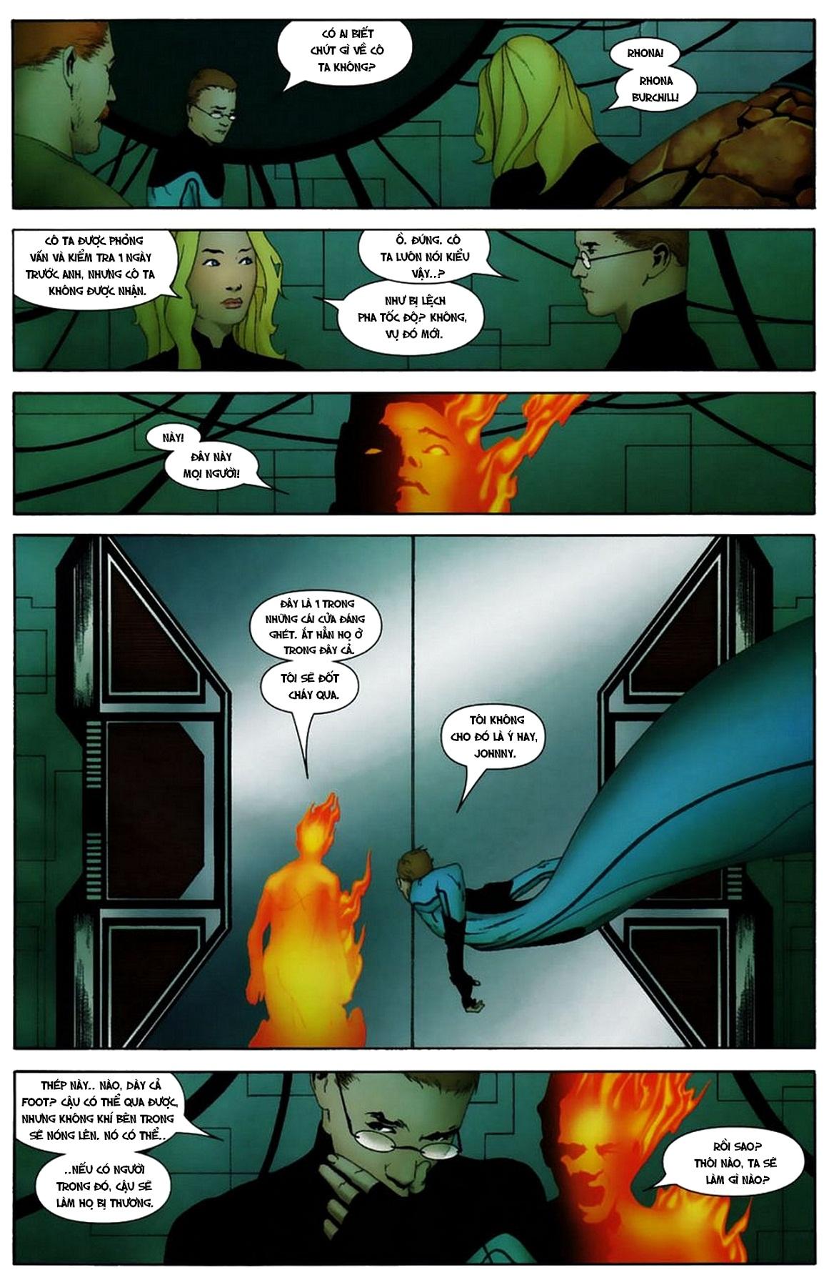 Ultimate Fantastic Four chap 19 - Trang 17