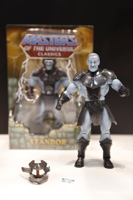 """San Diego Comic-Con 2013 First Look: Stan Lee Masters of the Universe Action Figure """"Standor"""""""