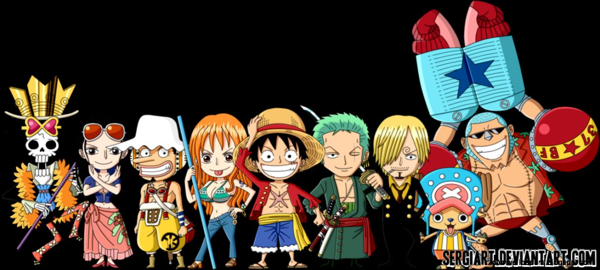 Straw Hats Chibi Wallpaper Www Bilderbeste Com
