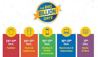 Flipkart The Big Billion Days 13th – 17th October 2015