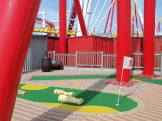Crazy Golf at Fantasy Island in Ingoldmells