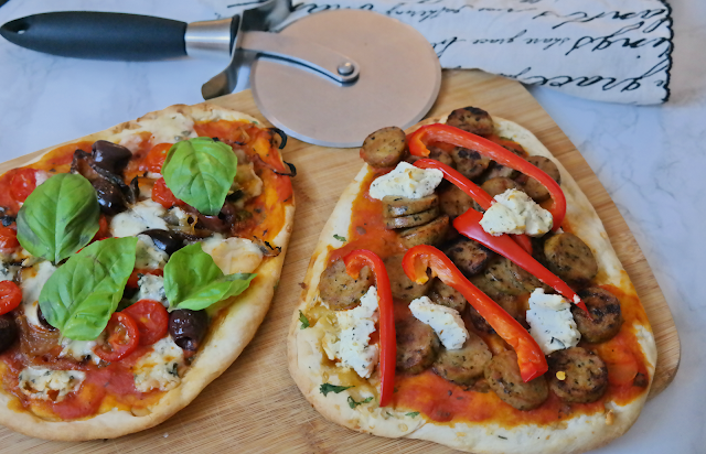 Ten Naan Pizzas to Make