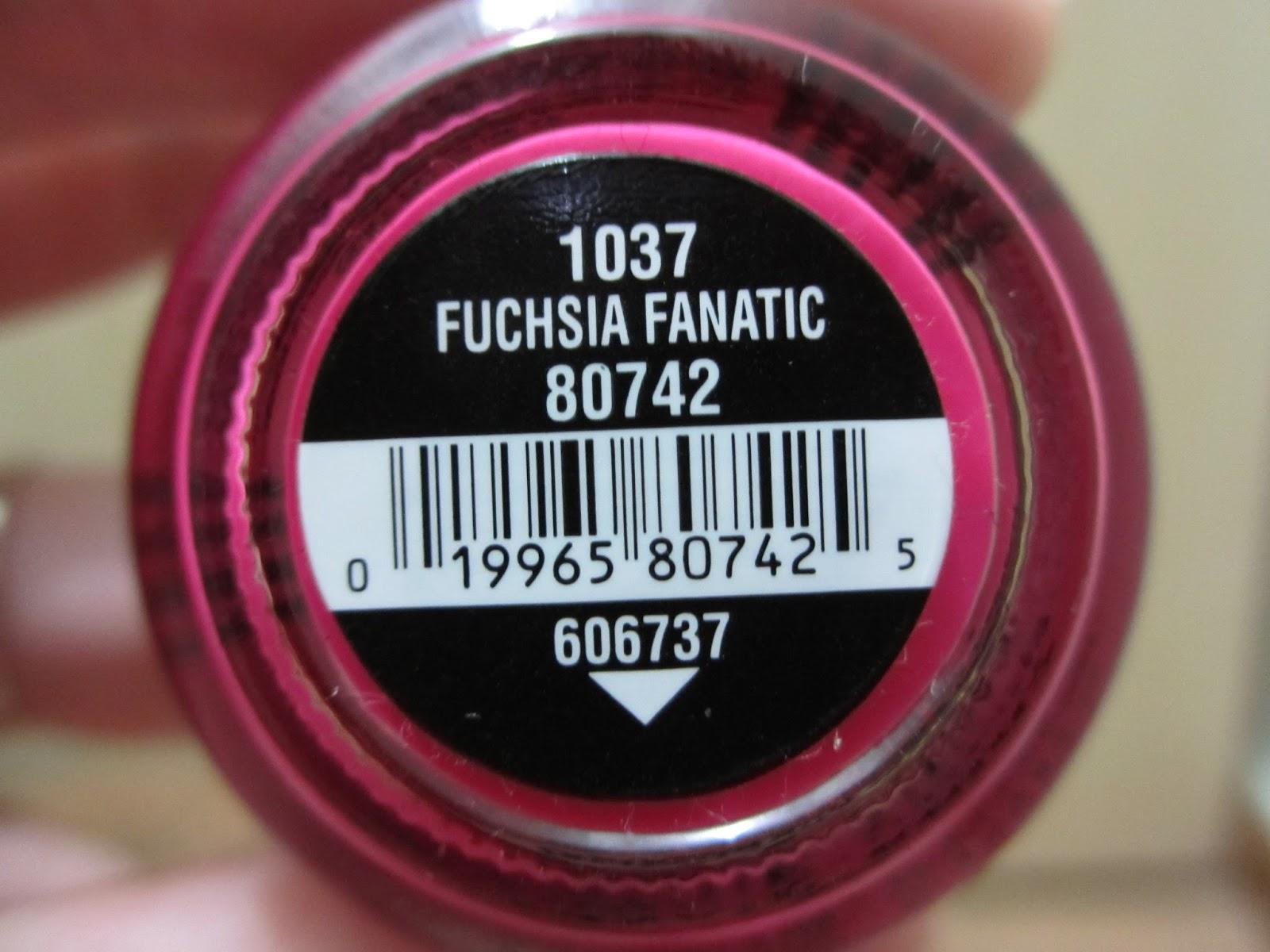 china glaze fuchsia fanatic