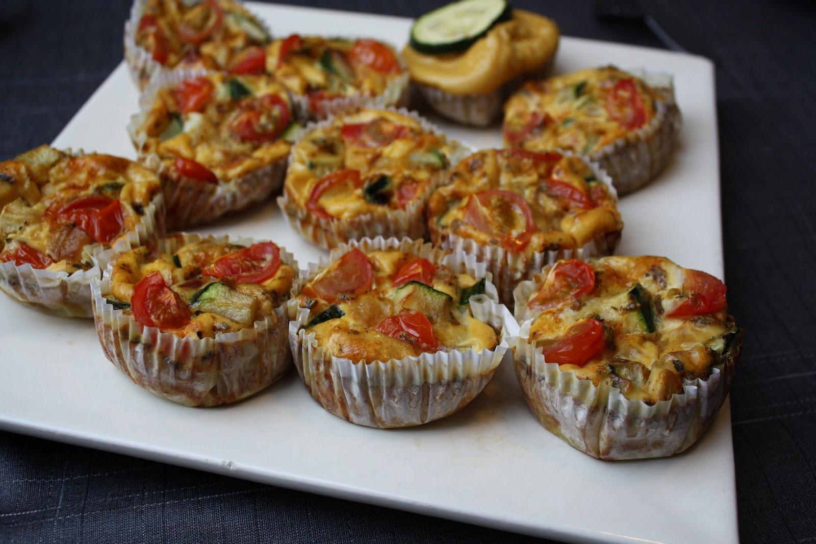 Madlaboratoriet æggemuffins Med Squash Og Tomat