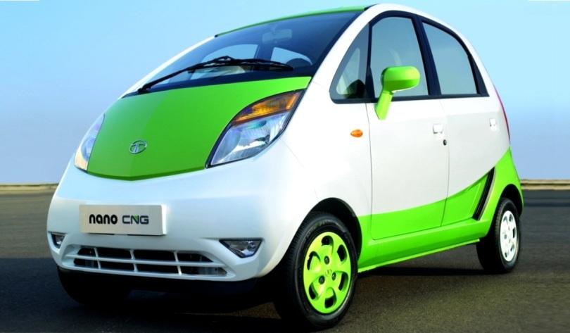 Tata Nano CNG (E-Max). Majalah Otomotif Online