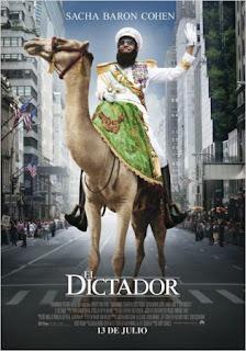 Cartel de la película El Dictador