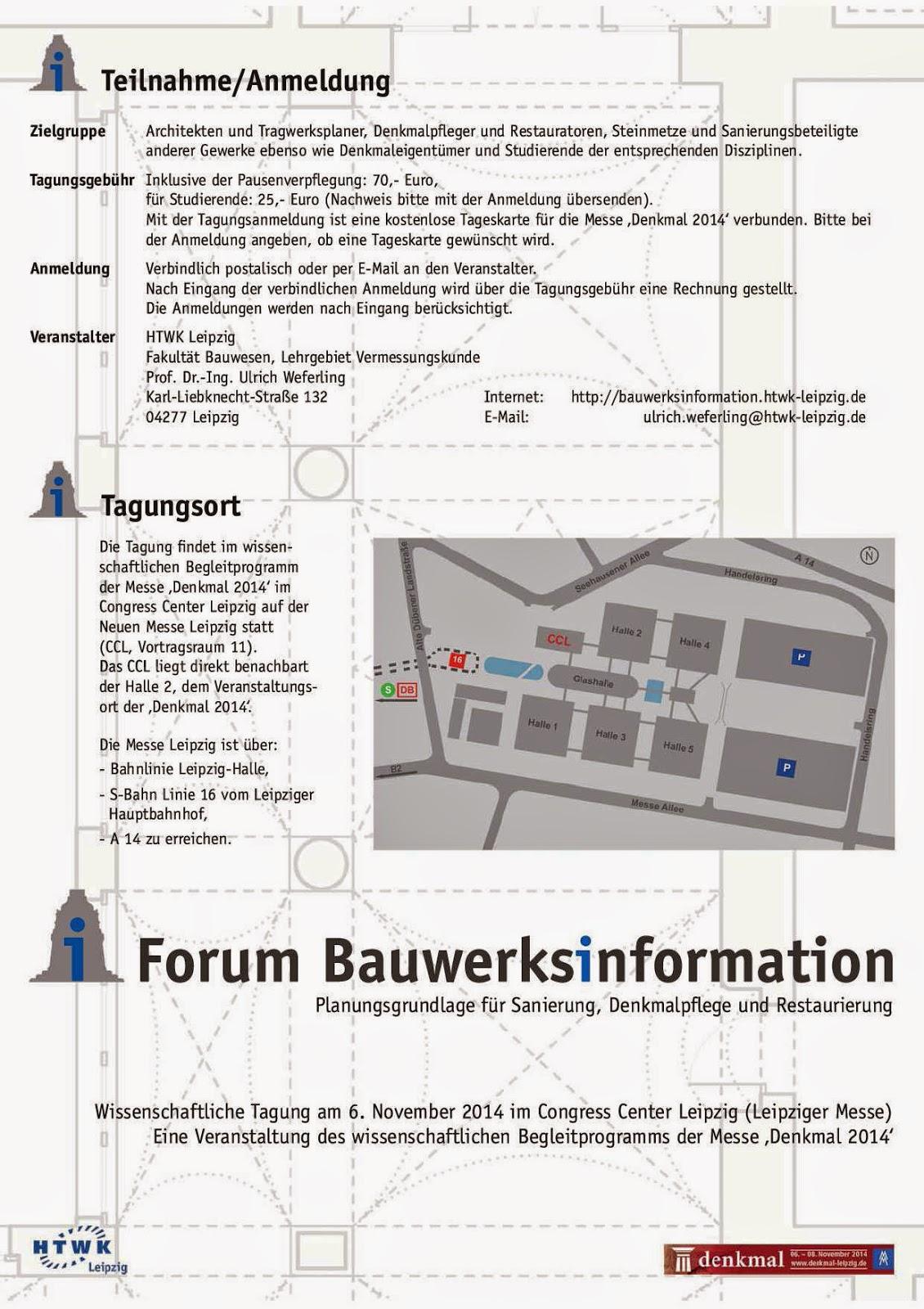 Förderverein Bamberger Denkmalpfleger e.V.: Oktober 2014