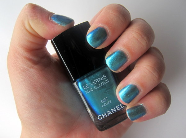 Chanel Le Vernis Azure Summer 2013 Swatches