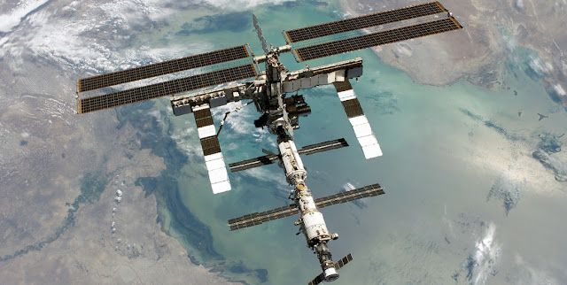 The International Space Station. Credit: NASA
