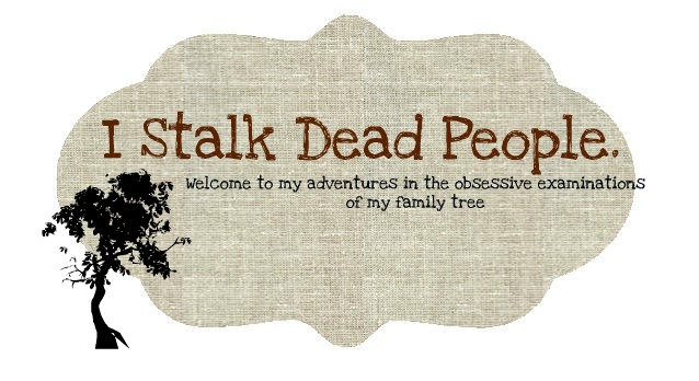 I Stalk Dead People.