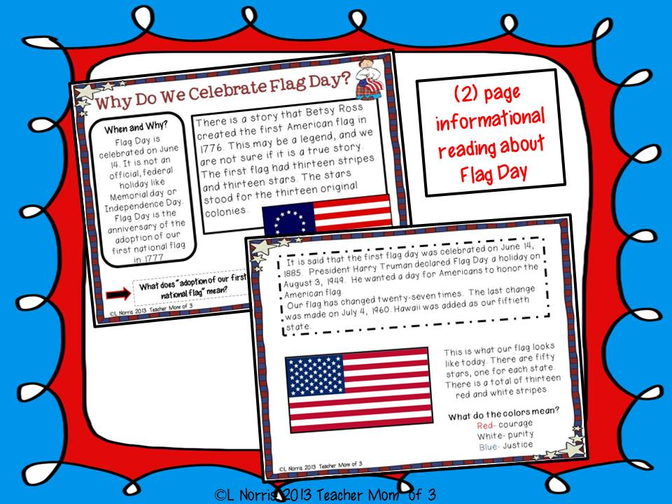 Flag Day FREEBIE!