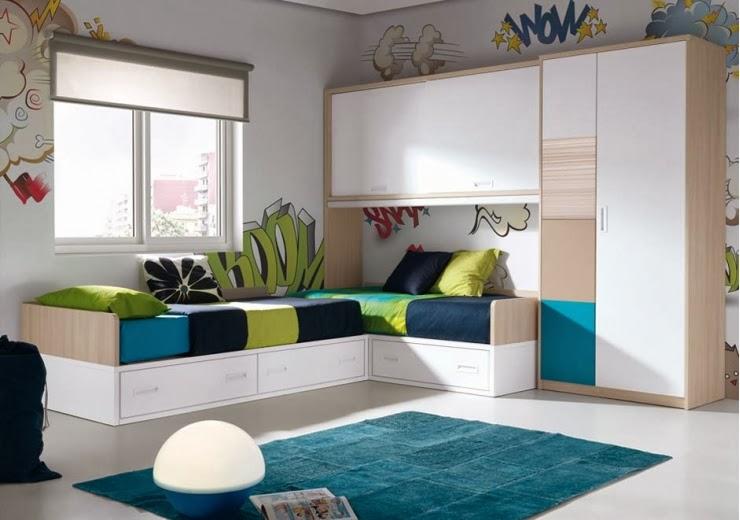 Dormitorio juvenil 605fm 008 muebles dormitorios - Dormitorios juveniles en barcelona ...