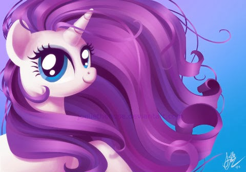 Blasphemous to mess up Rarity's perfect mane