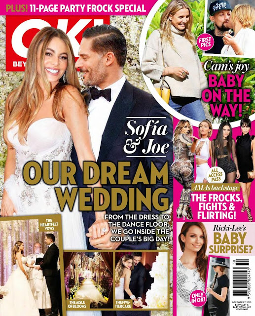 Actress, Model, @ Sofia Vergara - OK Magazine Australia, December 2015