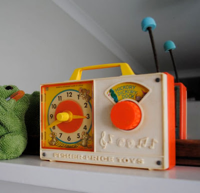 Vintage Fisher Price clock radio
