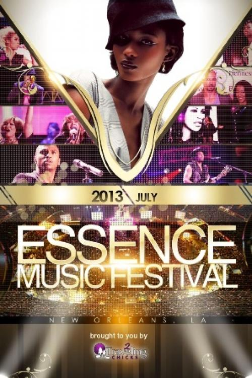 2013 ESSENCE MUSIC FESTIVAL LINEUP ANNOUNCED