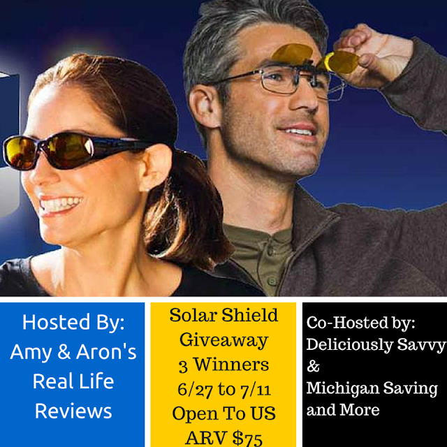 Enter the Solar Shield Giveaway. Ends 7/11