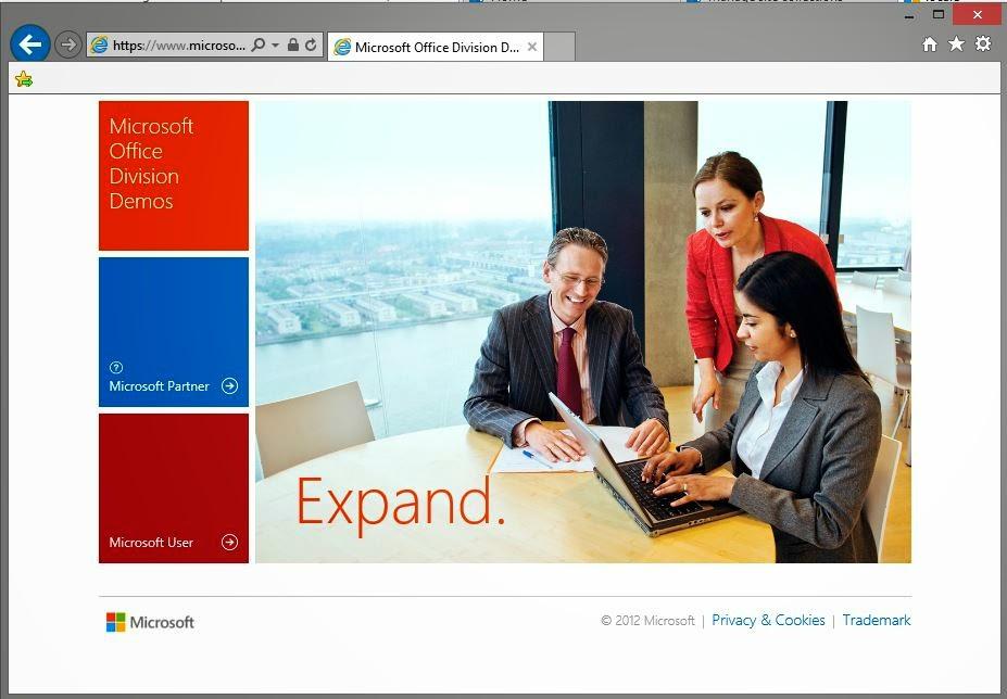 Microsoft Office Demo Site