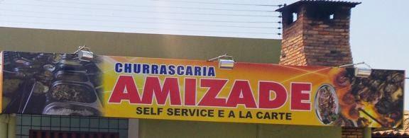 Self Service na Churrascaria Amizade