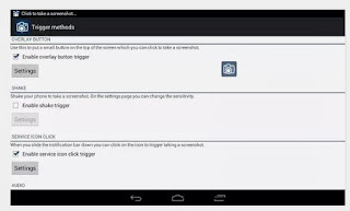 capturar um instantâneo do ecrã do Android