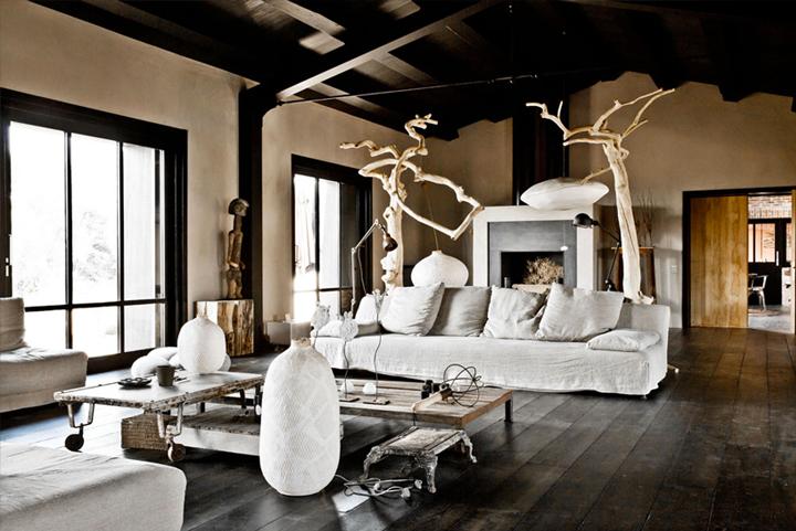 79ideas living area rustic villa