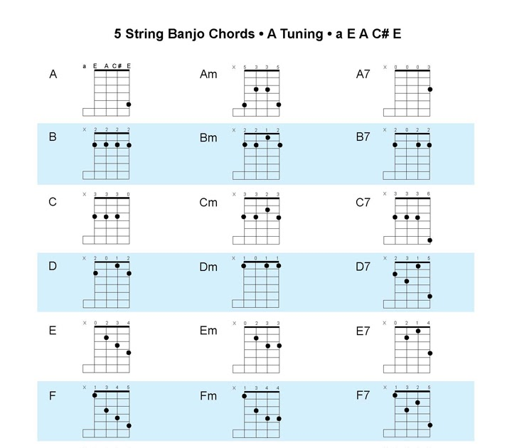 Banjo banjo chords in double c tuning : Banjo : banjo chords c tuning Banjo Chords C Tuning as well as ...