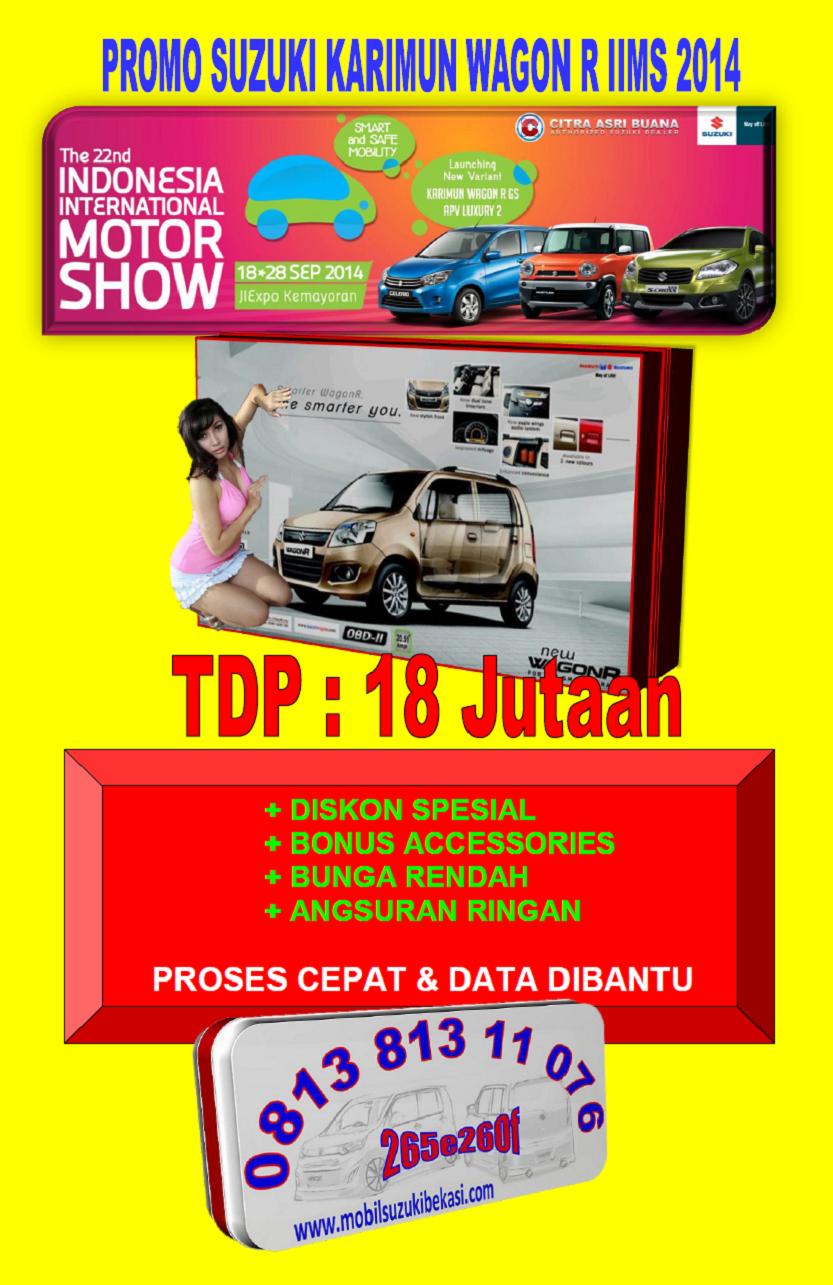 Promo Suzuki Karimun Wagon R IIMS 2014