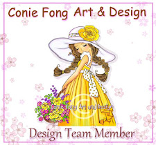 I'm on the Conie Fong Design Team!