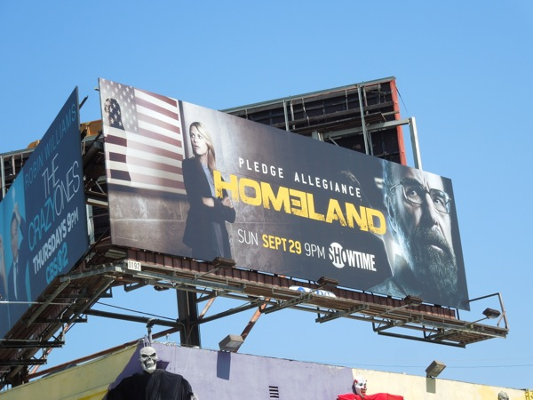 Homeland season 3 Showtime billboard