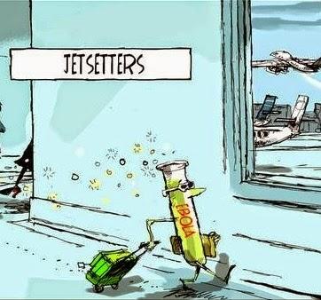 Brian Gable: Jetsetters, Ebola.