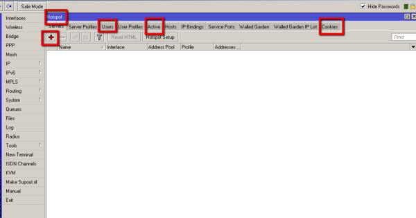 شرح خطوات اعداد برنامج Winbox فى سيرفر المايكروتك Mikrotik  7