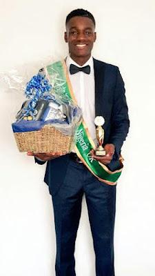 Mr NIGERIA UK Theo Ogundipe 2015
