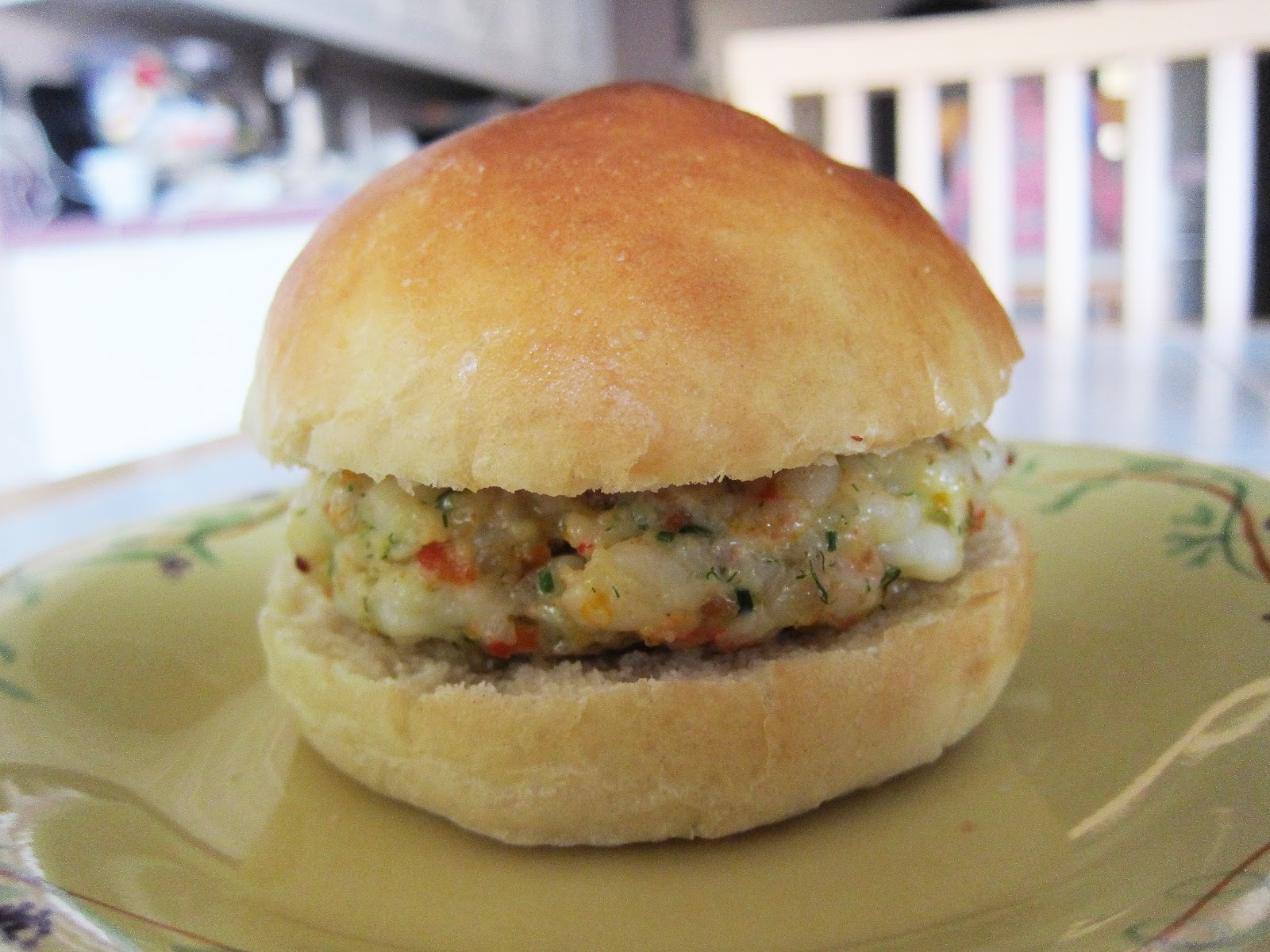 Bloatal Recall: Shrimp Burgers with Roasted Garlic-Orange ...