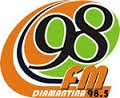 ouvir a Rádio 98 FM 98,5 Diamantina MG