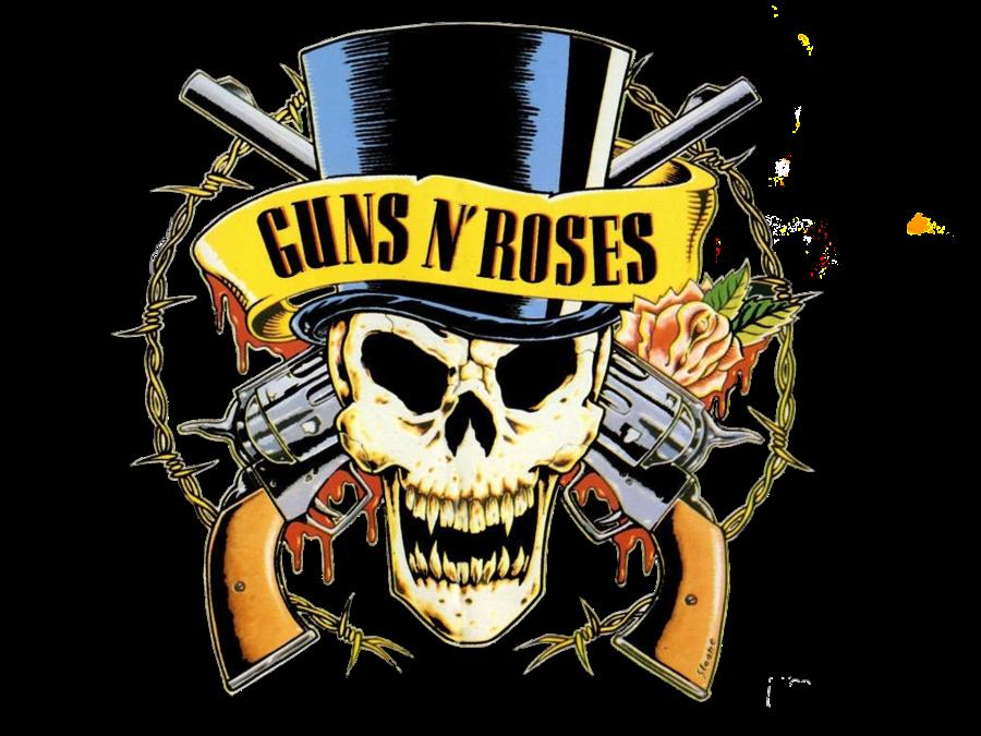 guns n roses png