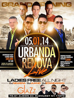 Urbanda and Renova - Club Glazz - May 1, 2014