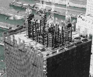 WTC UNDER CONSTRUCTION