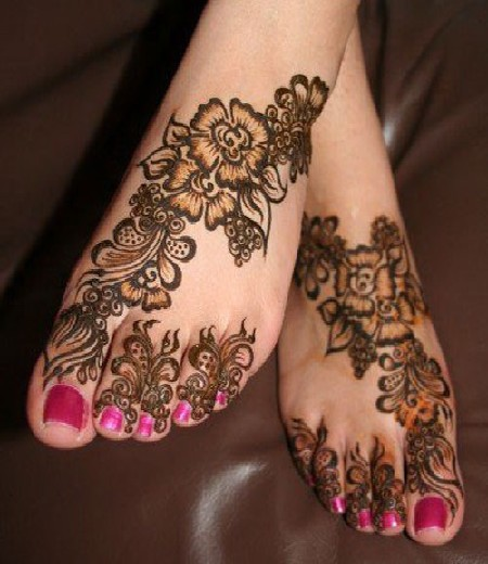 Feet Mehndi Design Pic : Mehndi designs for hands indian bridal